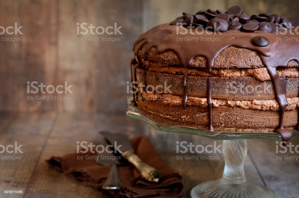 Schokoladenkuchen. – Foto
