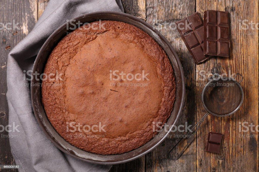chocolate cake - foto de acervo