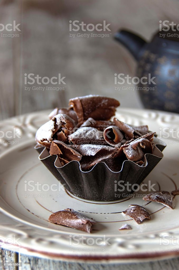 Chocolate cake - foto stock