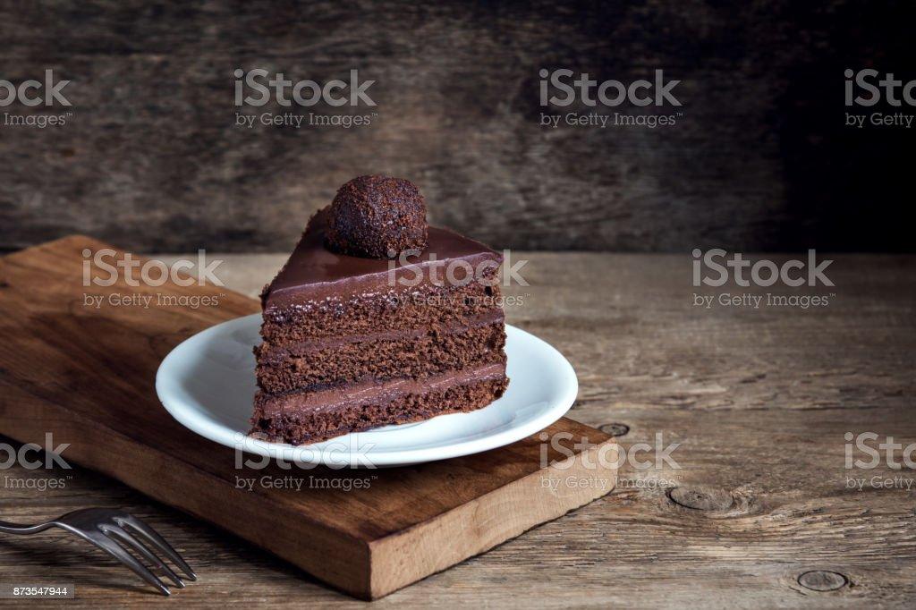 Bolo de Chocolate  - foto de acervo