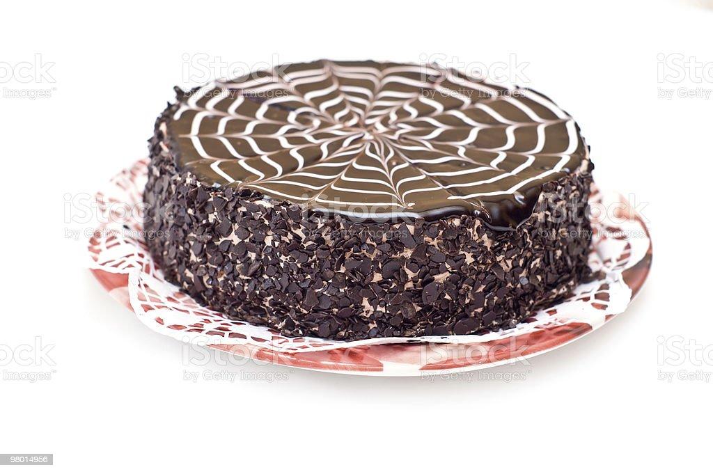 초콜릿 케이크 royalty-free 스톡 사진