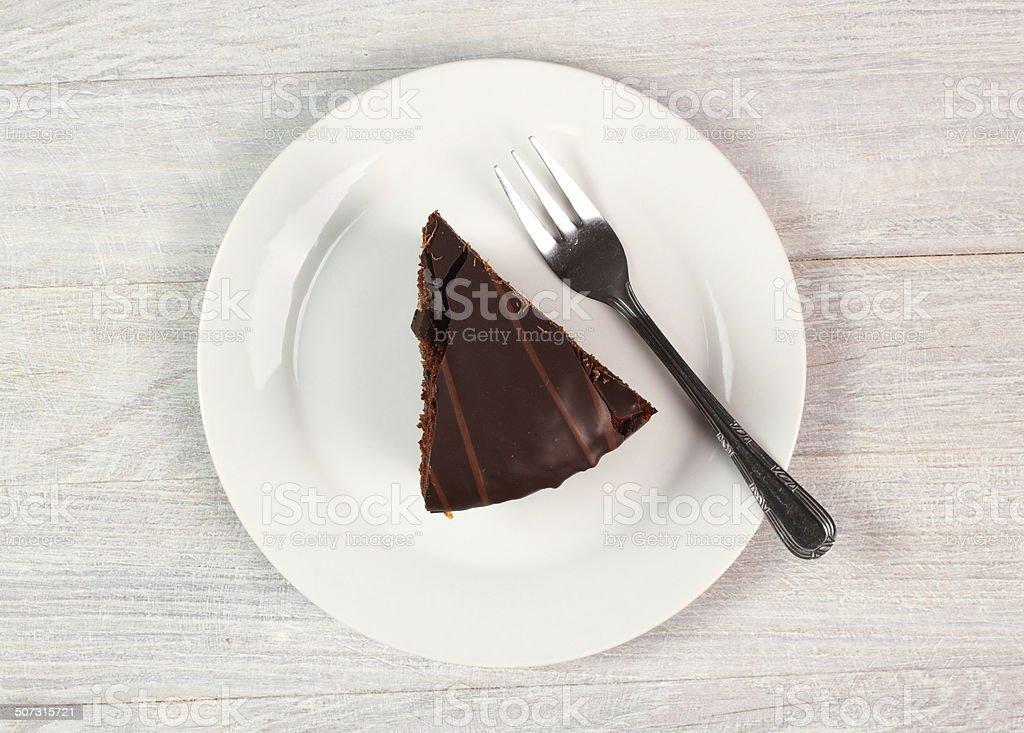 Chocolate Torte - Sachertorte stock photo