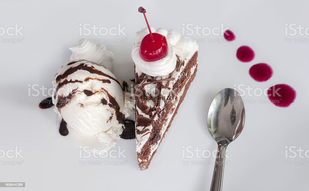 Chocolate cake01 royalty-free stock photo