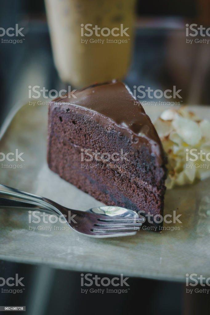 Bolo de chocolate - Foto de stock de Açúcar royalty-free
