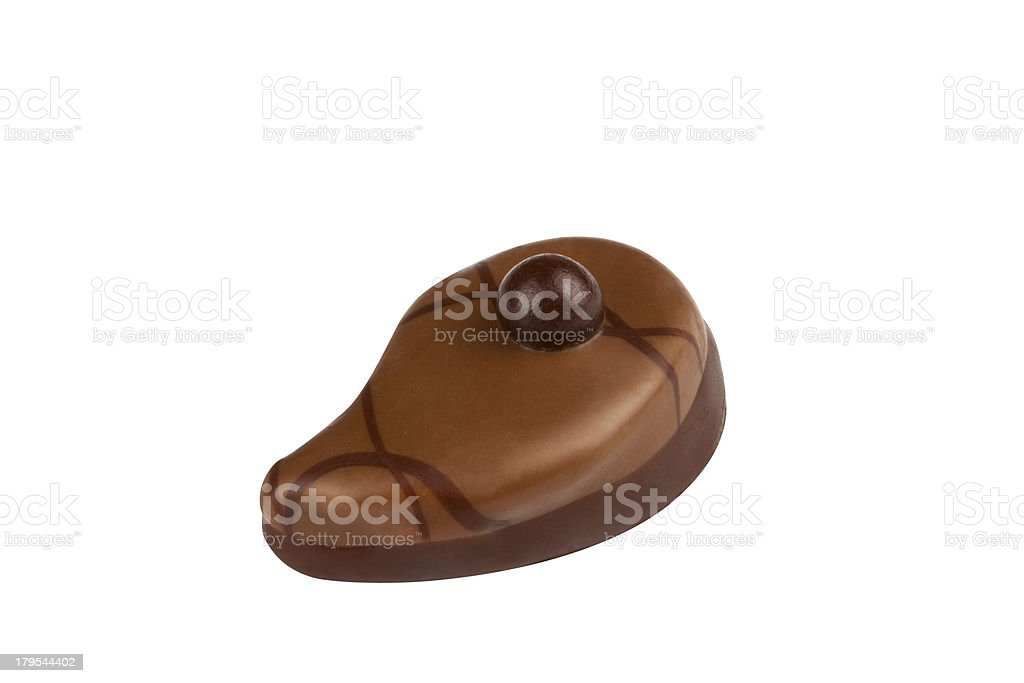 chocolate candie isolated on white background royalty-free stock photo