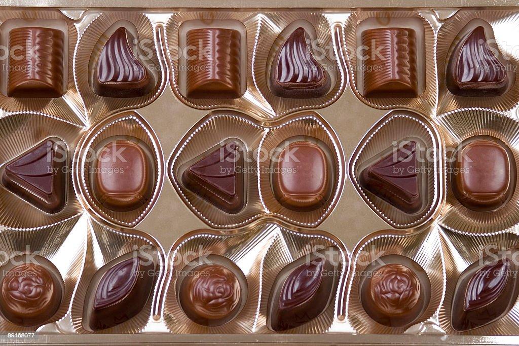 Bonbons au chocolat photo libre de droits