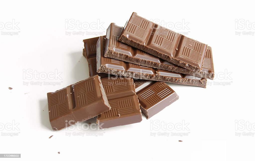 Chocolate candy bar royalty-free stock photo