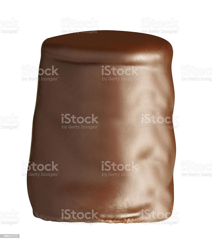 Chocolate candy isolatd royalty-free stock photo