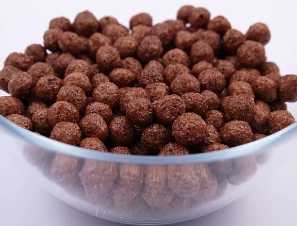 Schokolade Zerealien Bälle – Foto