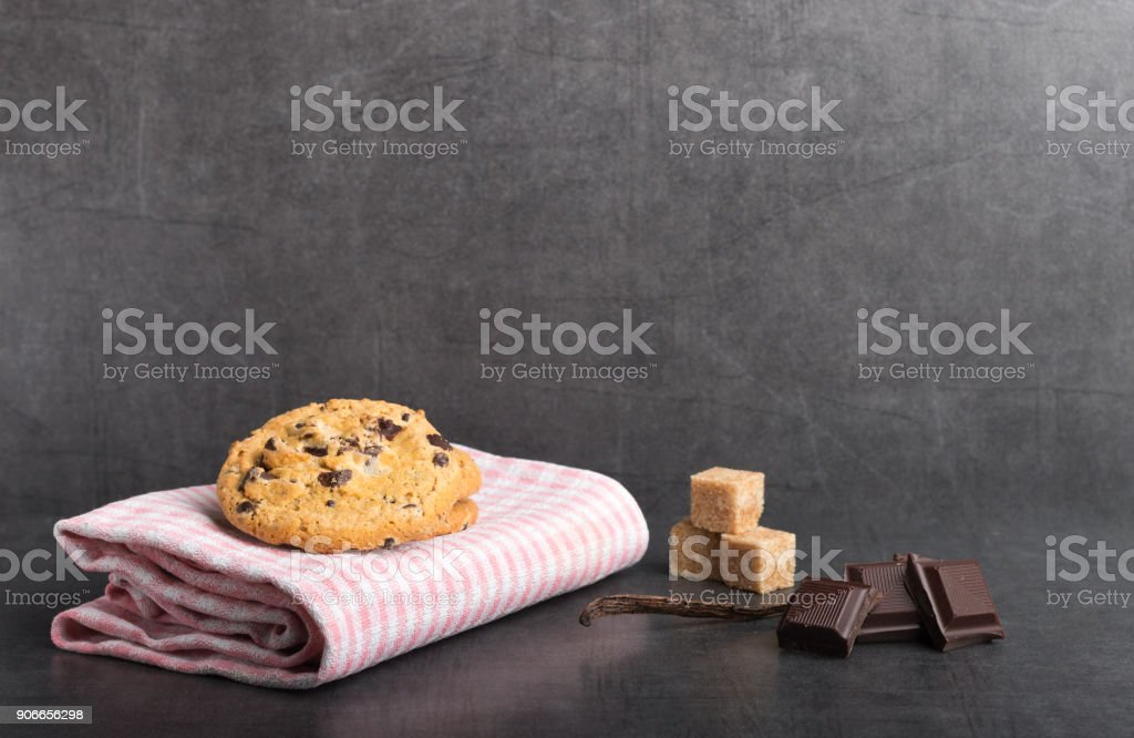 coockies aux pépites de chocolat - Photo