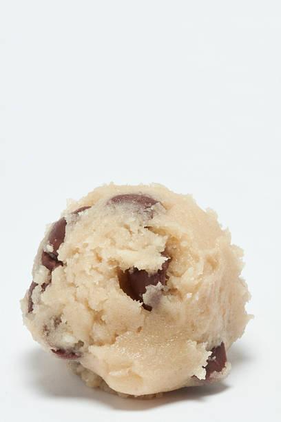 Chocolate Chip Cookie Dough stock photo