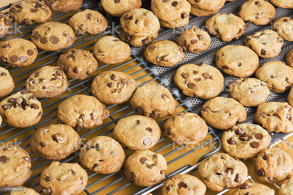 Chocolate Chip Cookies Fantasy royalty-free stock photo