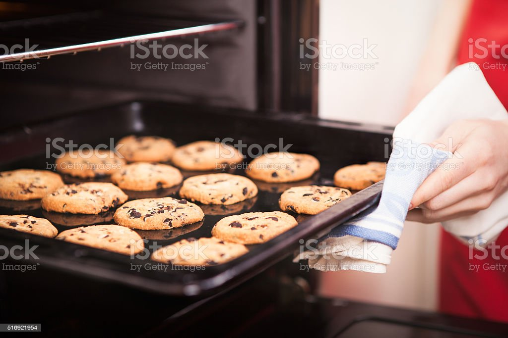 chocolate chip cookies – Foto
