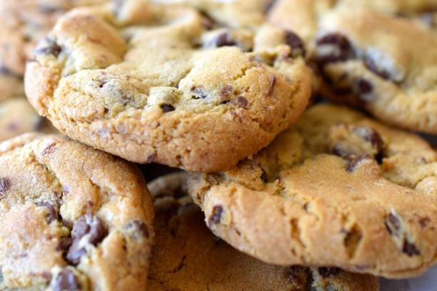 Chocolate Chip Cookies Chocolate Chip Cookies chocolate chip cookie stock pictures, royalty-free photos & images