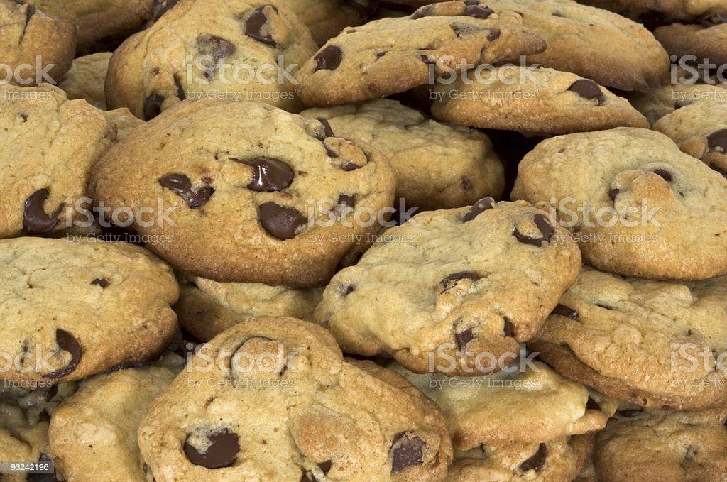 Chocolate Chip Cookies stock photo