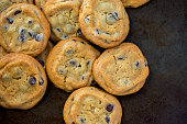 Two delicious chocolate chip cookies. Files included – jpg, ai (version 8 and CS3), svg, and eps (version 8)