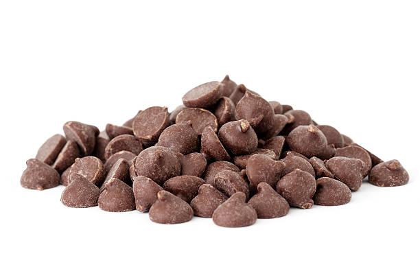 chocolate chips - stålpenna bildbanksfoton och bilder