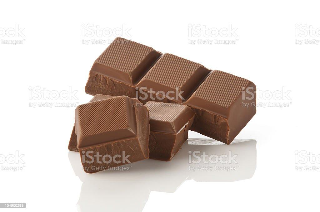Chocolate Chunks royalty-free stock photo