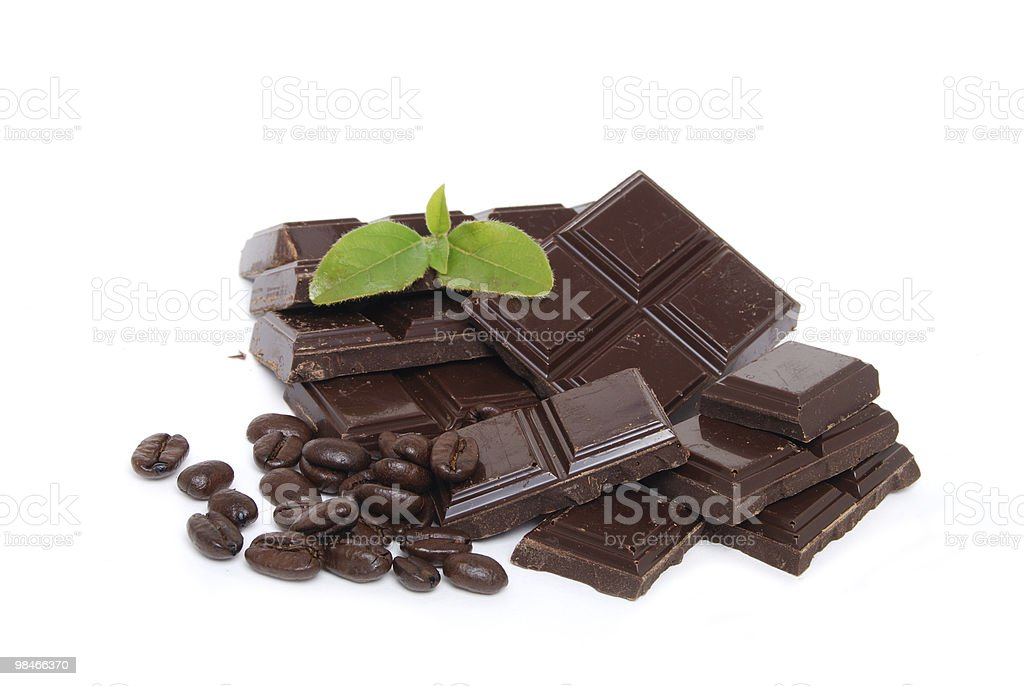 Chocolate Combo royalty-free stock photo