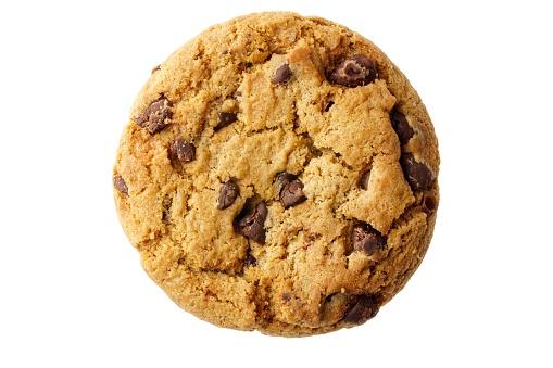흰색 배경에 고립 된 초콜릿 쿠키 0명에 대한 스톡 사진 및 기타 이미지