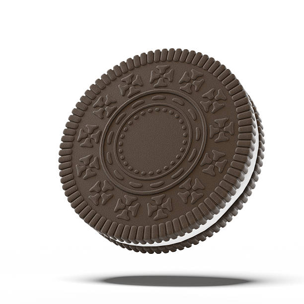 Biscoito de chocolate - foto de acervo