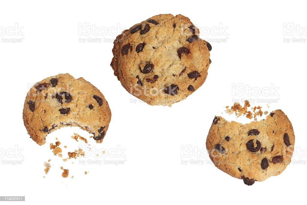 Chocolate cookies royalty-free stock photo