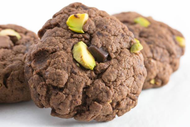 schokolade cookies - low carb kekse stock-fotos und bilder