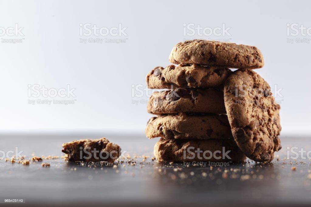 cookies au chocolat  - Photo de Aliment libre de droits