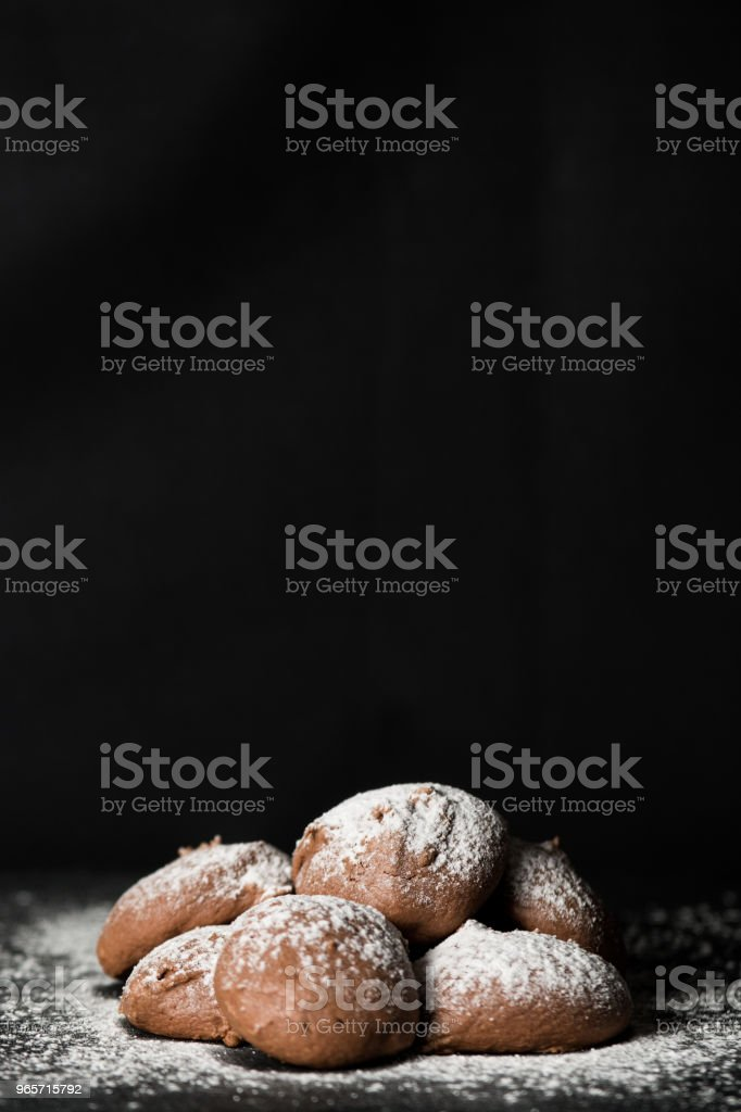 Chocolate cookies - Royalty-free Baked Stock Photo