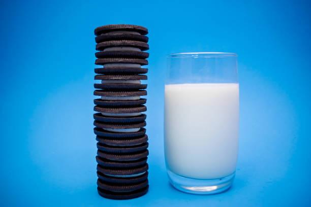 Biscoitos de chocolate - foto de acervo