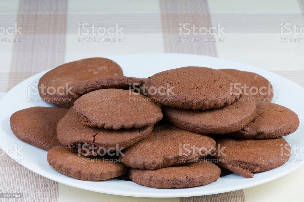 cookies au chocolat photo libre de droits