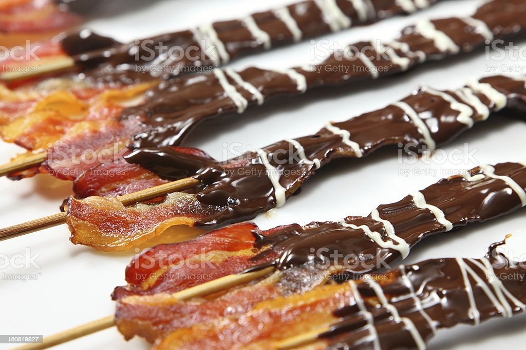 Chocolate Covered Bacon Stock Photo Download Image Now