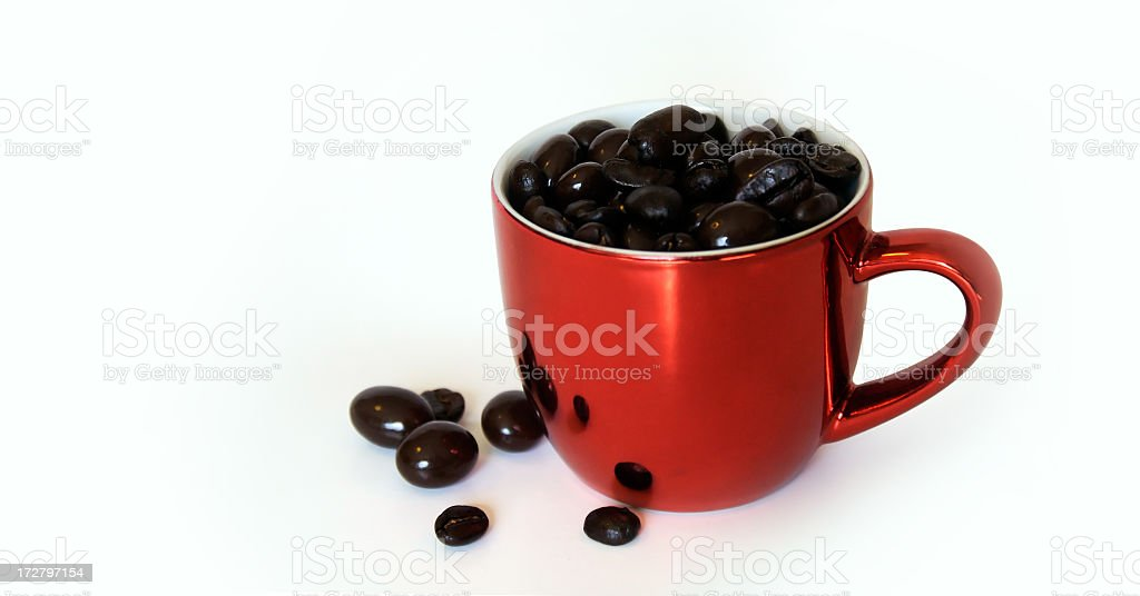 Chocolate Covered Coffee Beans royalty-free stock photo