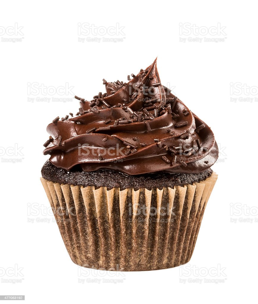 Cupcake de Chocolate - foto de acervo