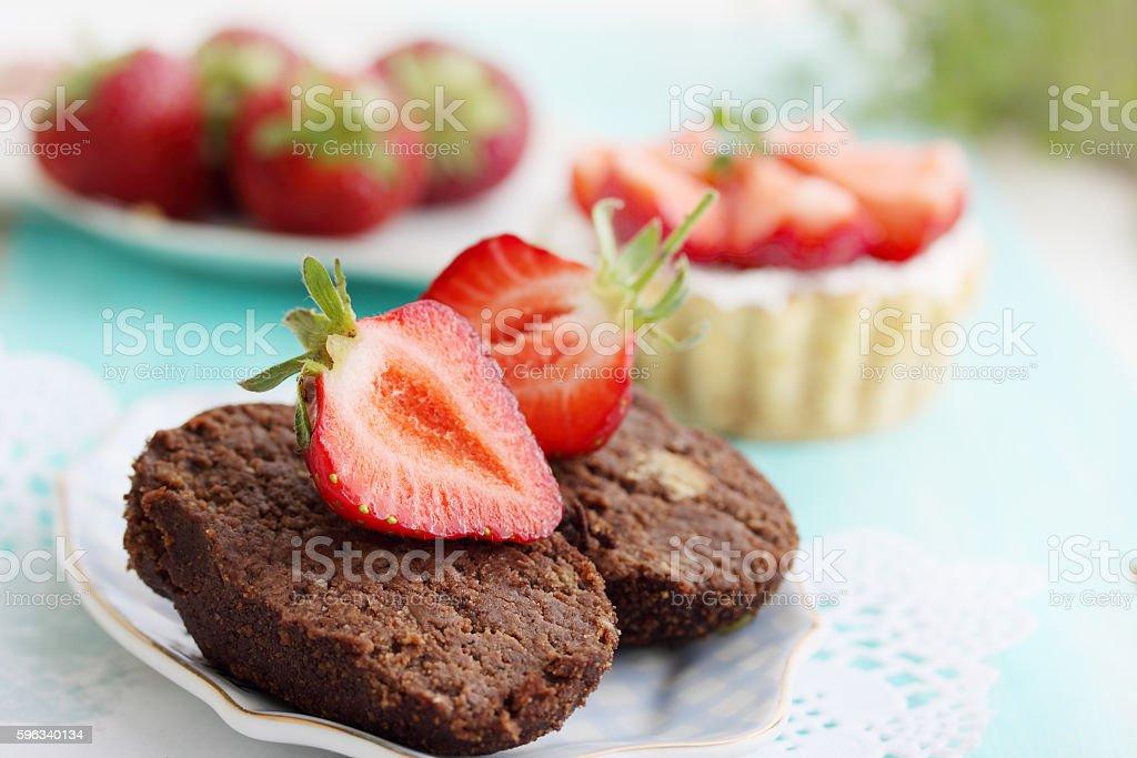 Schokolade-dessert  Lizenzfreies stock-foto