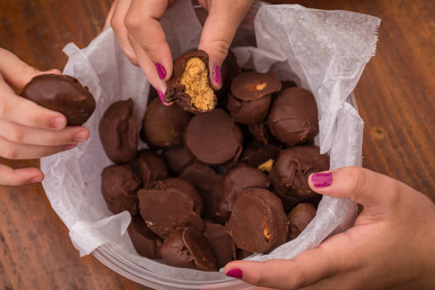 Chocolate Dessert stock photo