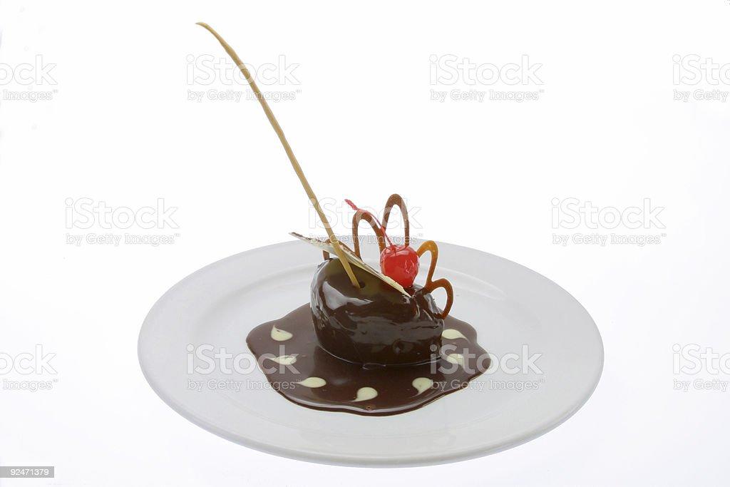 chocolate dessert royalty-free stock photo