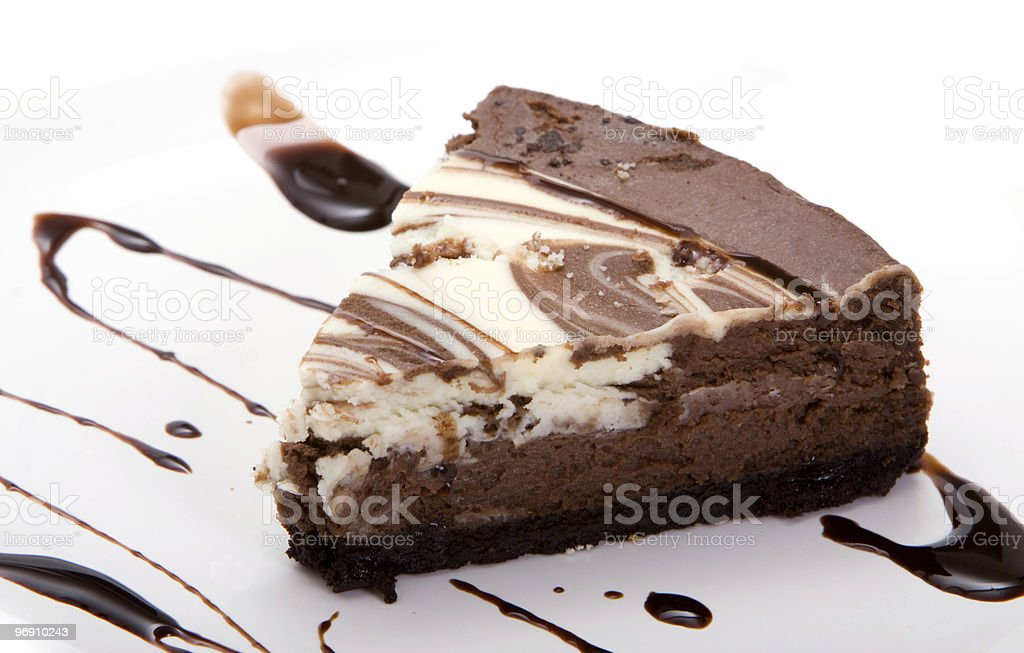 Chocolate dessert royalty-free stock photo