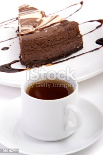 Chocolate Dessert Stock Photo & More Pictures of Black Coffee
