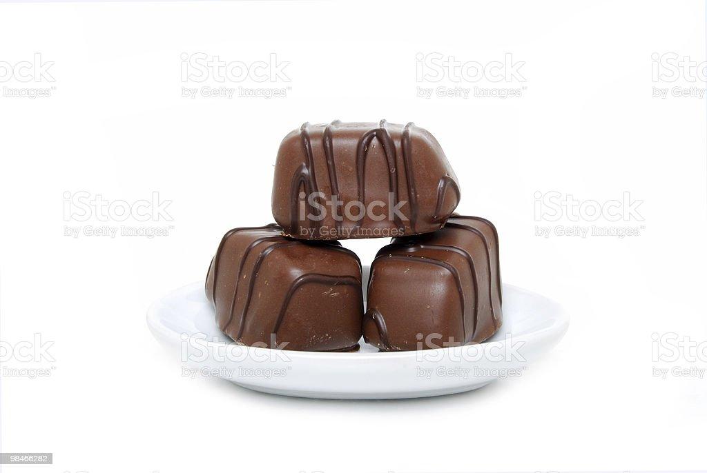Chocolate Dish royalty-free stock photo