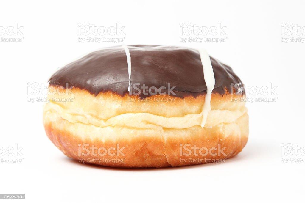 chocolate doughnut stock photo