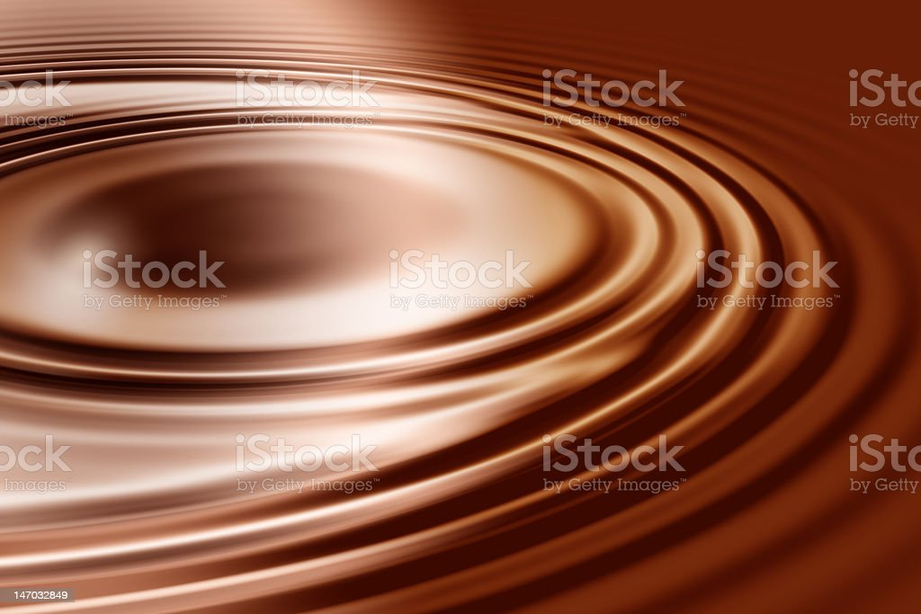 Chocolate dream is all-natural chocolate stock photo
