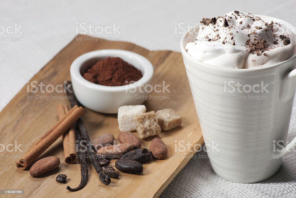 Chocolate drink royalty-free stock photo