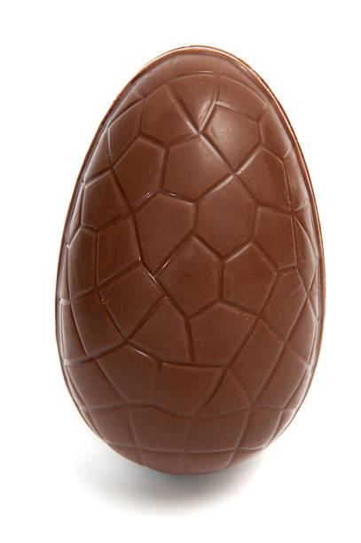 Chocolate Easter Egg stock photo