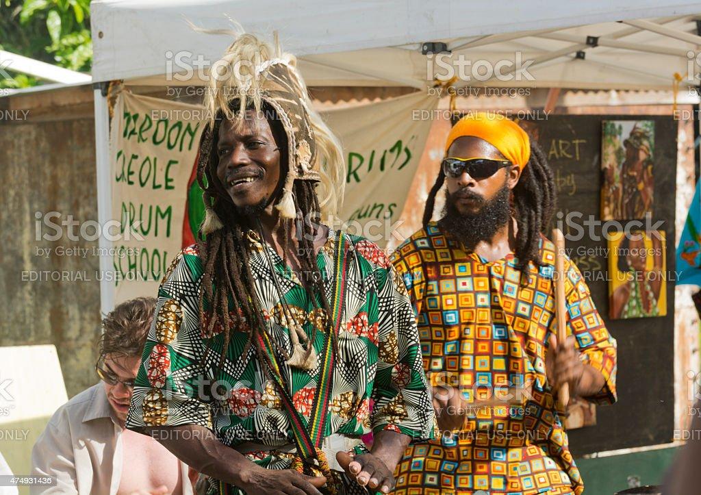 chocolate Festival of Belize stock photo