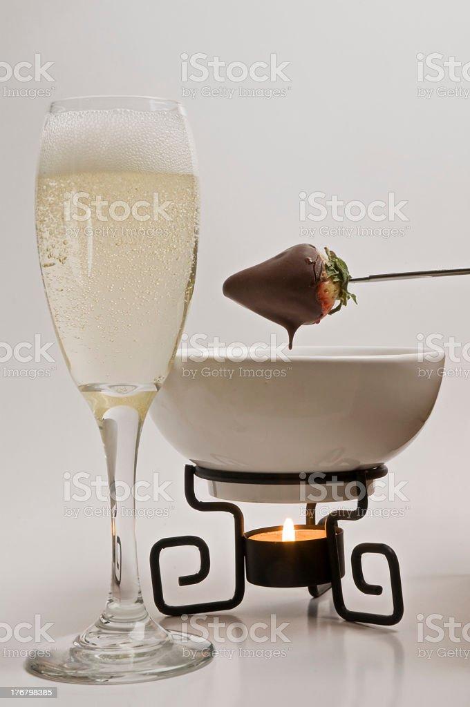 chocolate fondue - Royalty-free Alcohol - Drink Stock Photo