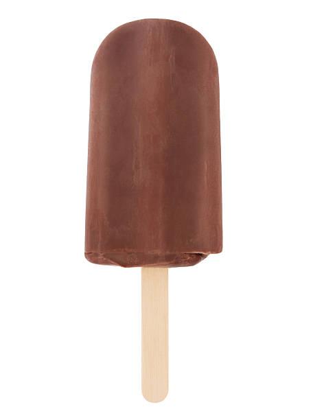 chocolate fudge ice pop - fudge stockfoto's en -beelden