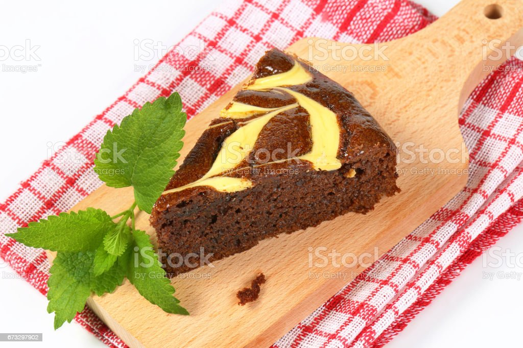 Chocolate gingerbread cake royalty-free stock photo