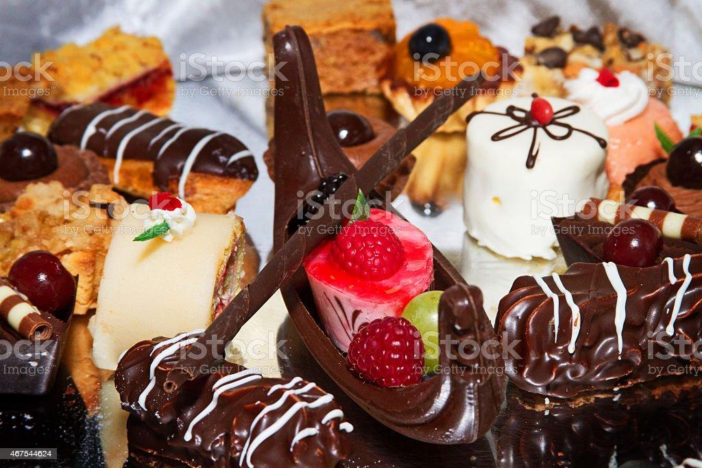 Chocolate Gondola stock photo