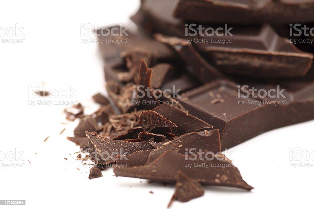 Chocolate Heap royalty-free stock photo